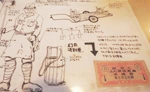 汲取券と記憶をもとに描いたイラスト