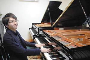 指の病克服 はずむ音色…ピアニスト・本山さん