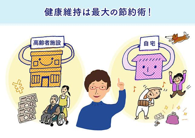 [有料老人ホーム選び]入居年齢低いほど一時金が高い施設も…健康維持は最大の節約術!