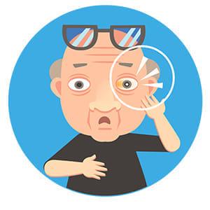 白内障治療用 3焦点レンズ…裸眼重視の人向け