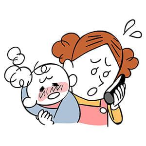 子どもの急病どう対処?…受診判断 「問診票」で