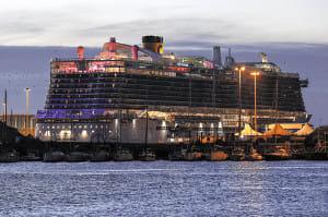 2人が感染疑い、クルーズ船乗客6千人が船内に足止め