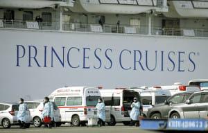 横浜港のクルーズ船、感染の4人重症化…ICUなどで治療