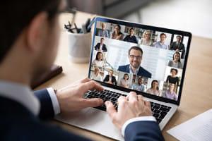テレワークで増えるウェブ会議 障害のある人に配慮してますか?