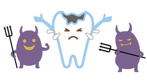 どうして虫歯になるの?