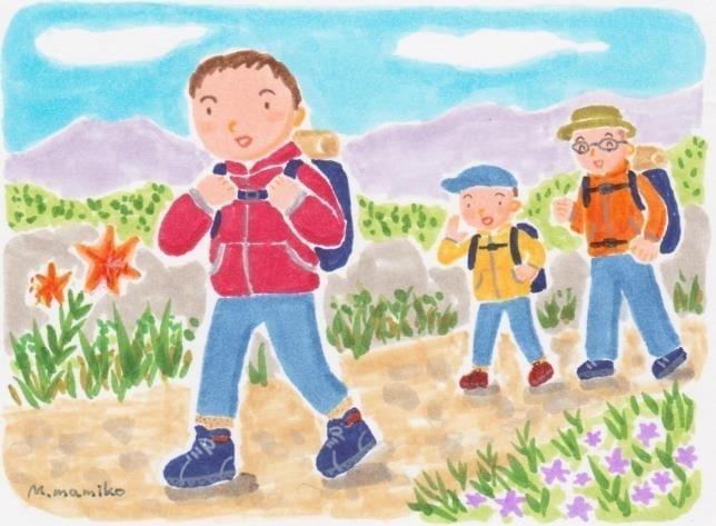 他の登山者のペットボトルをラッパ飲み!…親子で山に挑んだワケ