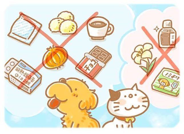 【番外・ペット編】誤飲事故の8割は犬 えさ状の殺虫剤、チョコレートも危険…猫は容器入り液体に注意!