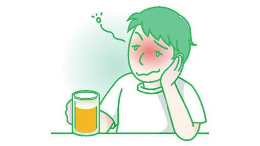 「健口」で健康(14) お酒弱い人 歯周病に注意