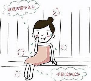 サウナの効用<3>冷え性改善 ツルツル美肌