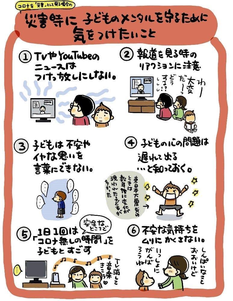コロナ対策イラスト 世界へ…日本の漫画家作品 翻訳