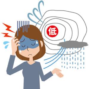 「台風が近づくと頭痛がする」は病気です…つらさ、理解して