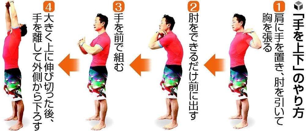 谷本道哉のすぐやる健康体操【手を上下】超ラジオ体操編