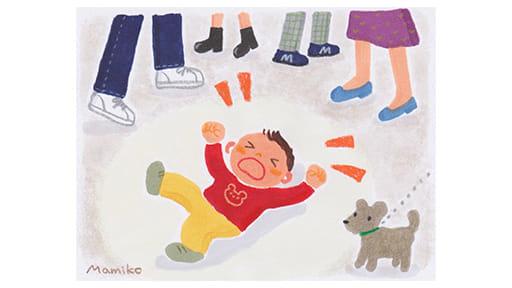 混雑する電車や店舗で大騒ぎ ジタバタ大の字で…「パニック」の思い出は親子の歴史だ!