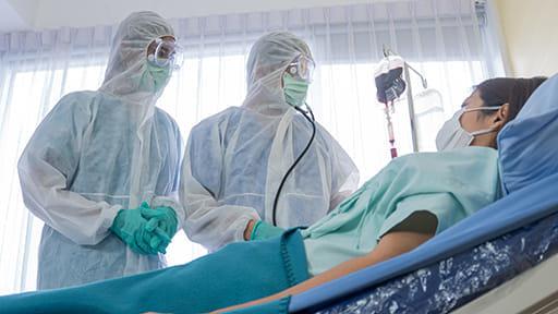 新型感染症対策も考慮した病床機能配分を