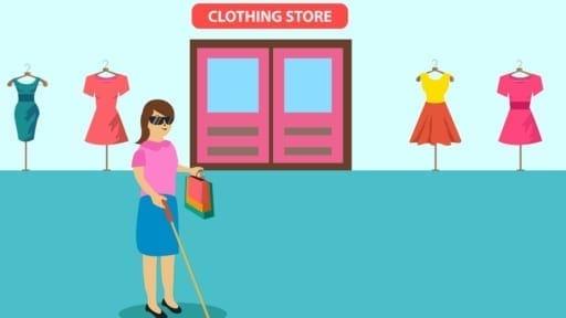 「ソーシャルディスタンス」のために介助を断られ…視覚障害者の買い物にお店の配慮を