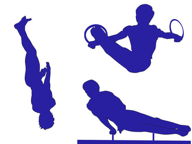 空間認識などの領域が増大 体操トップ選手の脳を分析 競技力との相関も