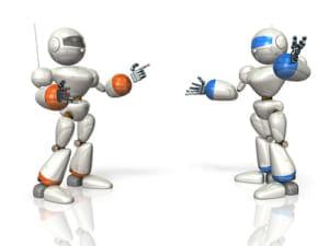 2体のロボットが褒めることで運動技能向上 リハビリの支援システム開発に貢献