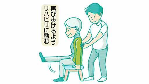脚の痛み(8)術後 痛くてもリハビリを