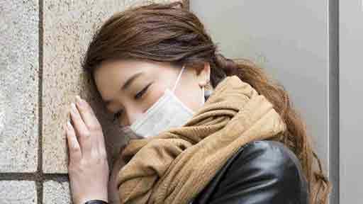 マスク着用による口呼吸、パニック発作に注意