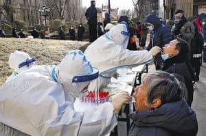 感染対策で全住民に1週間の外出禁止…中国・石家荘市