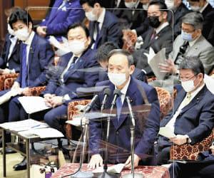 首相「しっかり答弁を」、立民・江田氏は「メモ棒読み」…衆院予算委で論戦