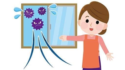 #コロナしっかり対策(下)室温と湿度を下げずに換気するには?