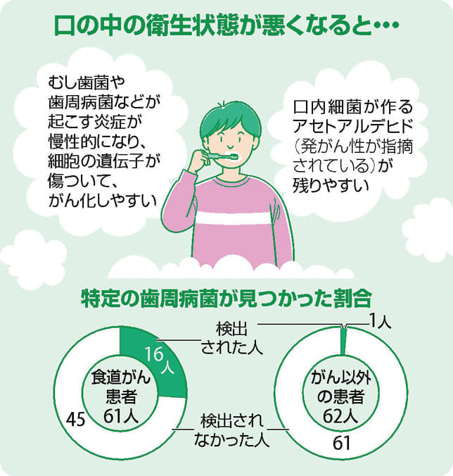 歯磨き がん予防になるの?