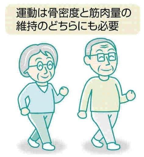 脚の痛み(16)歩く習慣 転倒の予防に