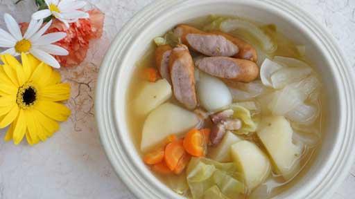 松丸奨の「おとなの給食アレンジレシピ」