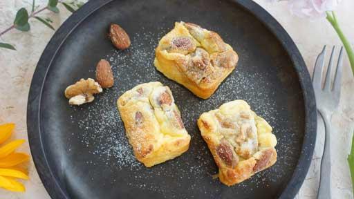 ナッツブーストチーズケーキ…「なんとなくかっこいい」レシピ名
