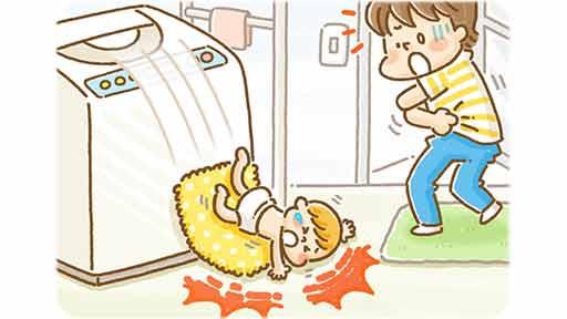 なぜ赤ちゃんを「洗濯機の上」に置くのか?…同じ転落事故が続くわけ