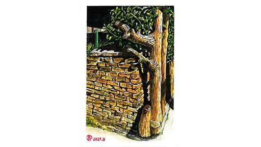 木に似せる 職人技が 見せ所