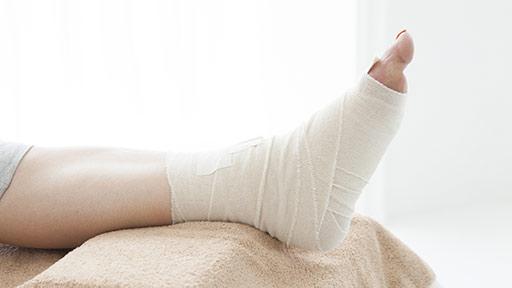 捻挫を早く治すには?…「RICE処置」が有効