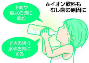 口の中の健康(4)糖分控え歯磨きしたのに…なぜ前歯にむし歯? 原因はスポーツ時のイオン飲料に