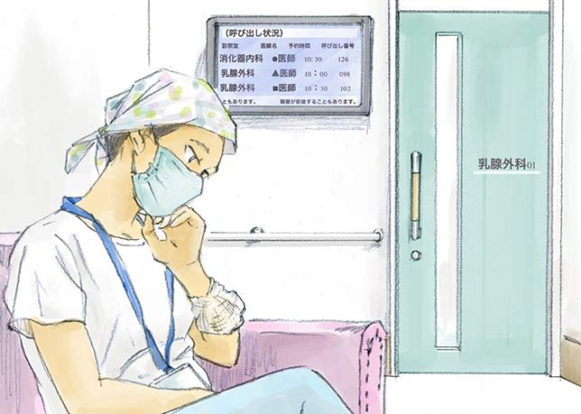 私が通う病院には腫瘍内科医がいません。どうしたらいいですか?