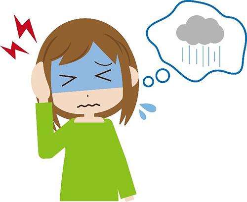 """フィリピン沖からの""""さざ波""""が頭痛を起こす!?…台風が来る前の抗めまい薬で予防"""