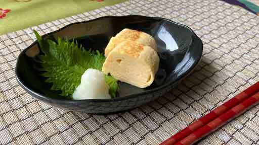 """すりおろし高野豆腐の卵焼き…""""もそもそ""""を""""しっとり""""に"""