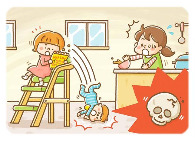 子ども用の椅子に立っていた子が転落し頭部骨折 「高さ75センチ以上」は大けがのリスク