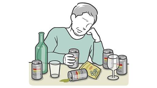 アルコール依存症…飲む量減らし 断酒の道へ