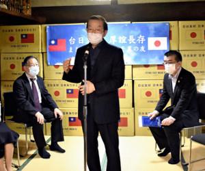 台湾から「日本ありがとう!」…ワクチン供与にお礼のマスク124万枚