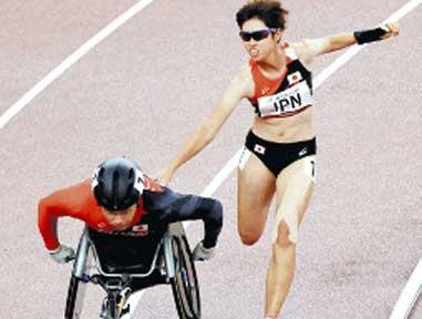 障害は個性、メガネをかけている人と同じ…パラに感じた「心の変化こそレガシー」