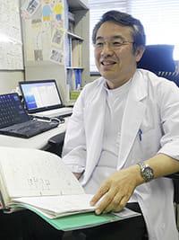 再発後の治療について説明する愛知県がんセンター中央病院乳腺科部長の岩田さん